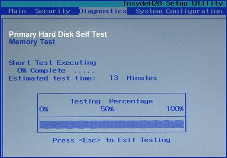 Hard Drive Self Test